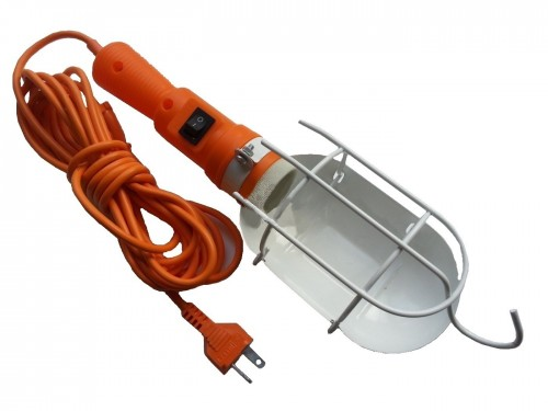 Светильник переноска E27 220V 5м с выключателем