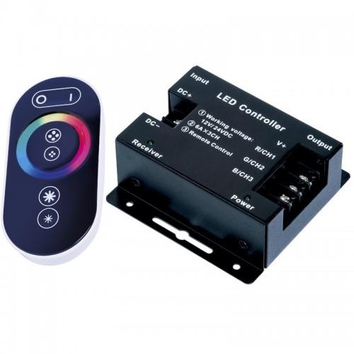 Контроллер для управления светодиодной ленты RGB с сенсорным радио ПУ