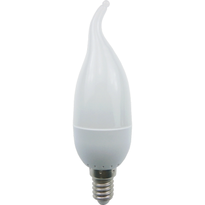 """Светодиодная лампа """"свеча на ветру"""" 3Вт Е14"""