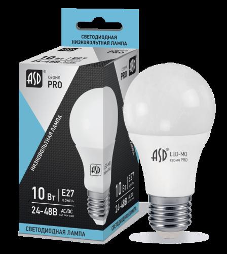 Низковольтная светодиодная лампа 24Вольт 10Вт Е27