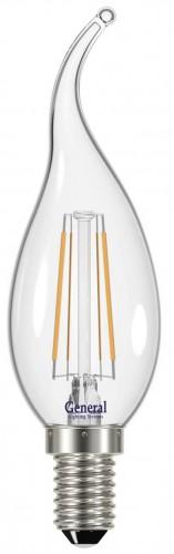 """Светодиодная лампа """"свеча на ветру"""" 7Вт Е14"""