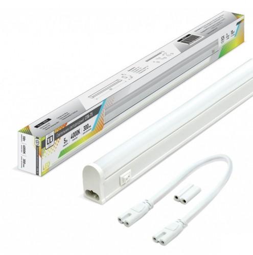 Светодиодный светильник для кухни 300мм 5Вт с кнопкой
