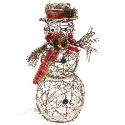 """Фигура деревянная """"Снеговик малый"""" без динамики"""