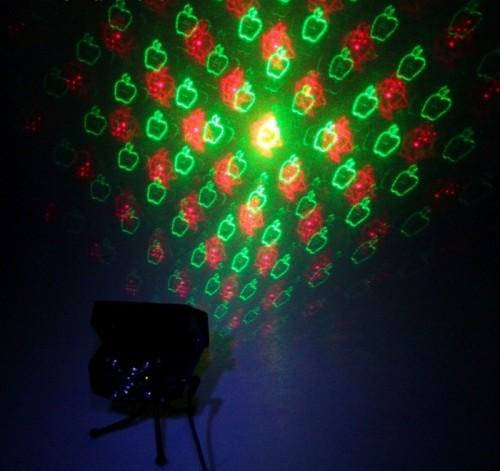 Лазерный проектор (металл), 8 проецируемых картинок