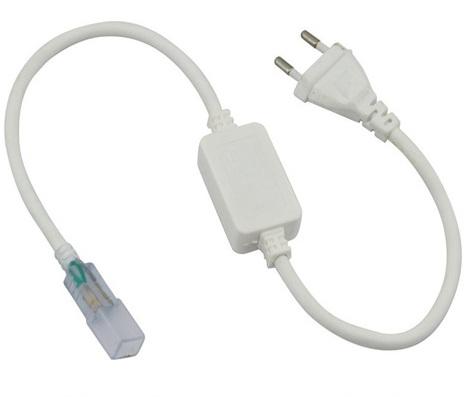 Сетевой шнур 700W для светодиодной ленты 220V 14х7мм