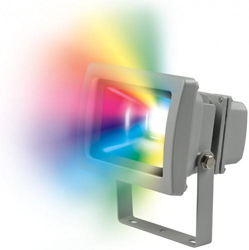Светодиодный прожектор RGB с пультом управления 10Вт