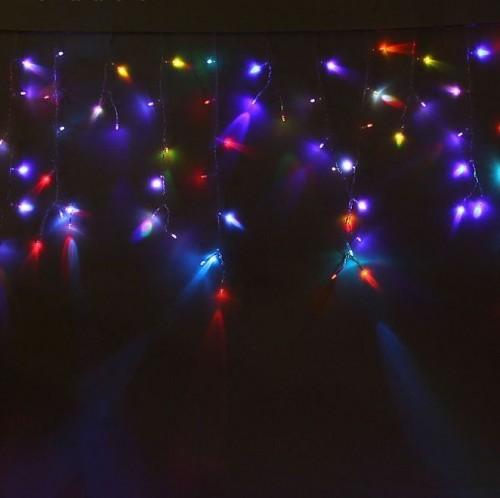 Светодиодная Гирлянда Бахрома 5,2 x 0,6 м RGB