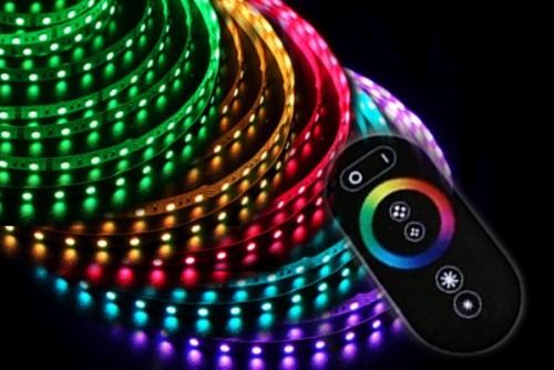 Светодиодная лента 24V SMD5050 60Led 14.4W RGB