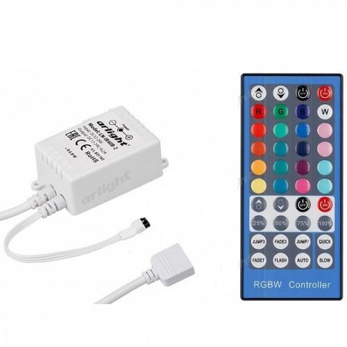 Контроллер для ленты RGBW с ИК пультом Premium