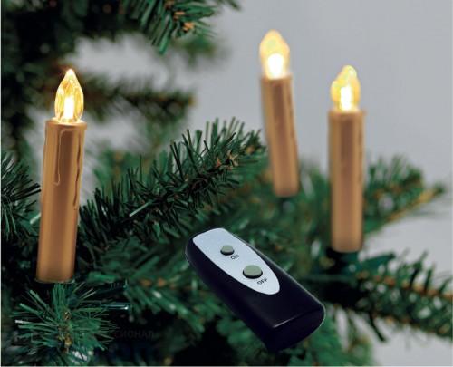 "Светодиодная гирлянда на батарейках ""Набор свечей"""