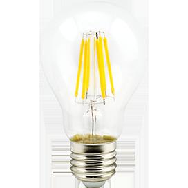 Светодиодная филаментная (нитевидная) лампа Е27 10Вт Premium