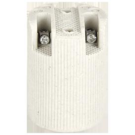 Патрон E14 подвесной керамика
