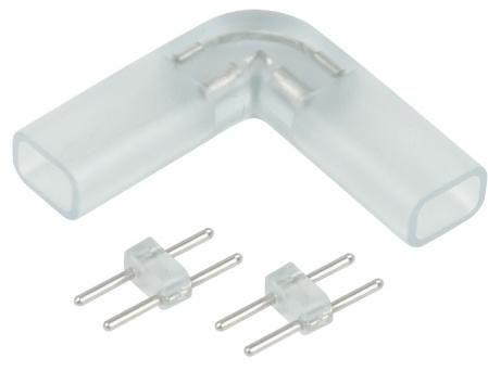 Угловое соединение для ленты 220V 12х7