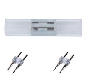 Комплект для упрощенного соединения ленты 12x7мм 220V