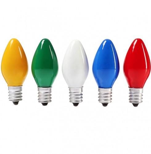 """Лампа накаливания """"свеча"""" матовая 10Вт Е12"""